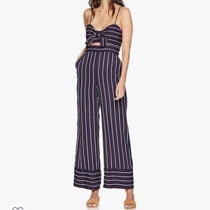 Bardot lulu striped jumpsuit NWT